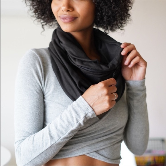 Beyond yoga pocket infinity scarf